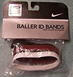 Nike Baller ID Bands - Lebron James - 3 Bands- White - LEBRON, Red - LJ 23; black - KING JAMES