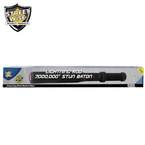 Streetwise Qty 1 Lightning Rod Stun Taser- 7,000,000 Volts