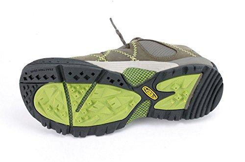 Vogue Genova Peak Donna Sneakers Moda Pelle Nero / Marrone 35 - Us 5