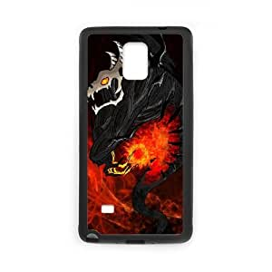 Dota2 SHADOW FIEND Samsung Galaxy Note 4 Cell Phone Case Black Phone Accessories LK_808094