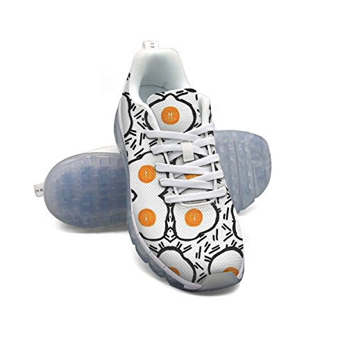 Fry Eggs Doodle Women's Breathable Mesh Air Running Shoes clearance looking for ahsTs1