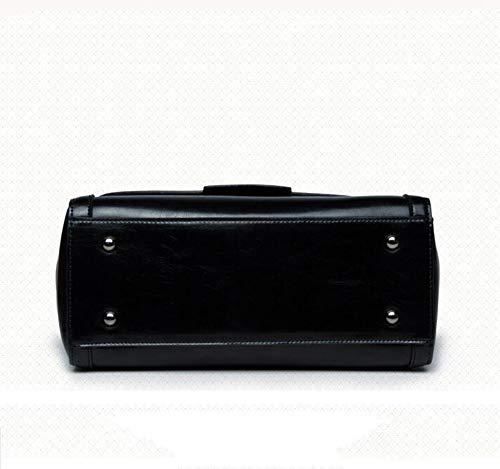 Single Handbag Bag A Bag Fashion Leather Messenger Shoulder Leather Girl Hongge Bag Lady nfwFaWYxq