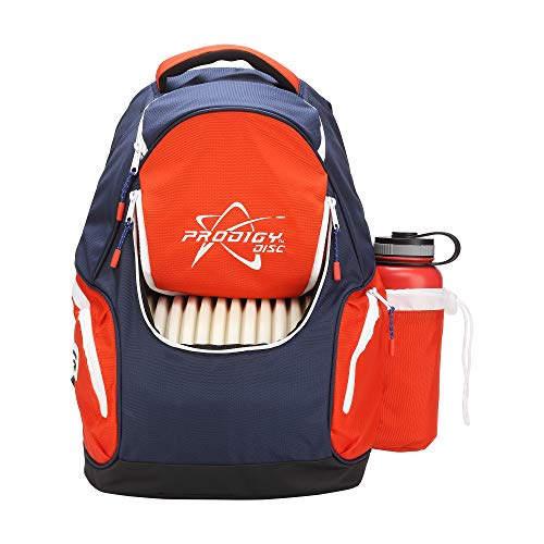 Prodigy Disc BP-3 V2 Disc Golf Backpack - Fits 17 Discs - Beginner Friendly, Affordable (Blue/Red) by Prodigy Disc (Image #2)