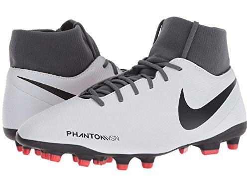 [NIKE(ナイキ)] メンズランニングシューズ?スニーカー?靴 Phantom VSN Club DF MG Wolf Grey/Black/Light Crimson 13 (31cm) D - Medium