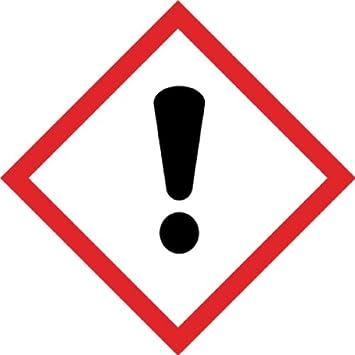 1000 Stück Aufkleber GHS Kennzeichen Gefahrensymbol GHS07 ...