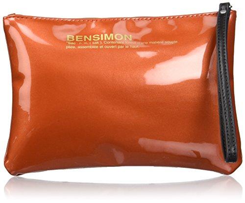 Bensimon Zipped Pocket, Poschette giorno donna arancione arancione 22x15.5x1 cm (W x H x L)