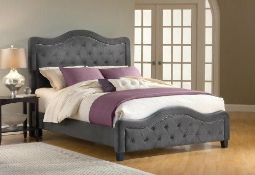 Hillsdale Furniture 1638BKRT Trieste Bed Set with Rails, - Furniture Bed Sets