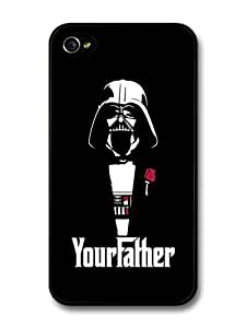 meilinF000AMAF ? Accessories Darth Vader Star Wars Black Illustration Your Father The Godfather case for ipod touch 5meilinF000