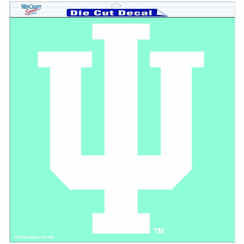 NCAA Indiana Hoosiers 18-by-18 inch Diecut Decal