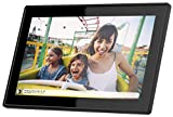 Feelcare 15.6 Inch 16GB WiFi Digital Picture Frame with FHD 1920x1080 IPS Display,Touch Screen,Send Photos from Anywhere in The World, Wall Mountable, Portrait and Landscape(Black)