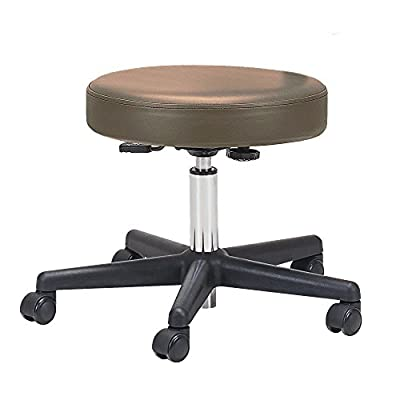 EARTHLITE Pneumatic Massage Therapist Stool - Rolling Massage Stool, CFC-Free