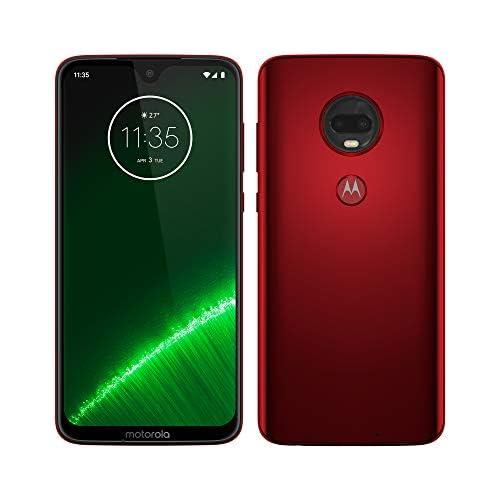 chollos oferta descuentos barato Motorola Moto G7 Plus Smartphone Android 9 Pantalla 6 2 FHD Max Vision Cámara Trasera 16MP con Estabilizador Cámara Selfie 12MP 4GB RAM 64 GB Dual SIM Versión Española Rojo