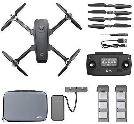 Holy Stone HS720 Foldable GPS Drone with 4K UHD Camera for Adults, Quadcopter with Brushless Motor, Auto Return Home…