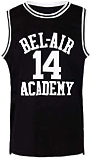 Youth Will Smith #14 Shirts The Fresh Prince of Bel Air Academy Basketball Jersey