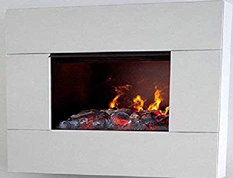 Camino Elettrico Bianco : Maisonfire fumetto bianco caminetto elettrico ad acqua: amazon