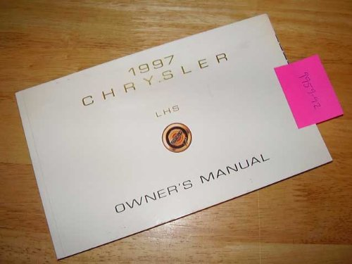 1997 Chrysler LHS Owners Manual