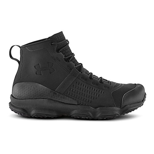 Under Armour Men's Speedfit Hike Mid, Black/Black/Black, 11 D(M) US