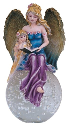 GSC StealStreet Blue Fairy Angel Reading with Baby Girl O...