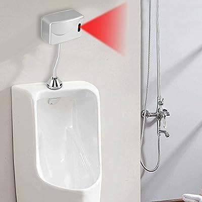 Valve de rin/çage automatique sans contact pour urinoir DC 6V G1//2 Capteur durinoir automatique mural /économie deau pour salle de bain Toilette WC