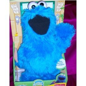 (Cookie Monster 18 Full Body Hand Puppet Doll Sesame)