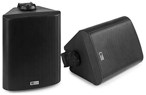 Power Dynamics BGB50 100W Speakerset voor Binnen en Buiten met Bluetooth zwart
