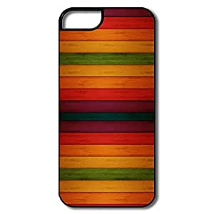 Custom Make Vintage Colorful Tranverse Stripe Cases For Iphone 5/5S