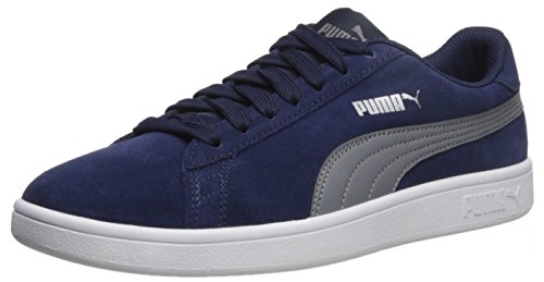 PUMA Men's Smash V2 Sneaker Peacoat-quiet Shade-puma Silver discount explore udhEHN