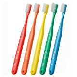 Oral Care Tuft 24 Toothbrush S 5 Count Assort (Made in Japan) Best-seller in Japanese market, anticavity