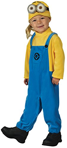 Despicable Me Characters Costumes (Rubie's Costume Despicable Me 3 Minion Dave Costume, X-Small)