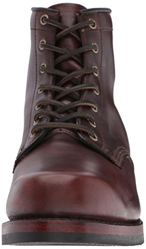 Stivale Da Combattimento Lace-up Da Uomo John Addison Frye 87083-marrone Scuro