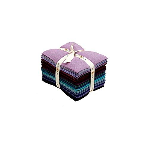 Kaffe Fassett Collective Shot Cottons Twilight 23 Fat Quarter Bundle Westminster Rowan Fabric by Rowan