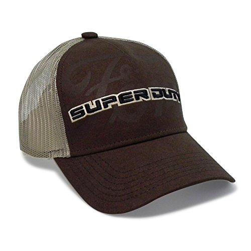 Ford Super Duty Pro Mesh Brown Baseball Cap