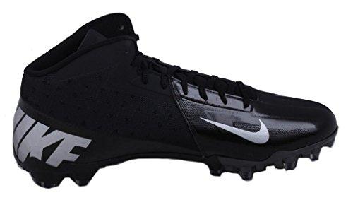 Nike Damp Talon Elite 3/4 Herre Sort / Metallisk Sølv Fodbold Klamper Sort / Metallisk Sølv JP9BejW