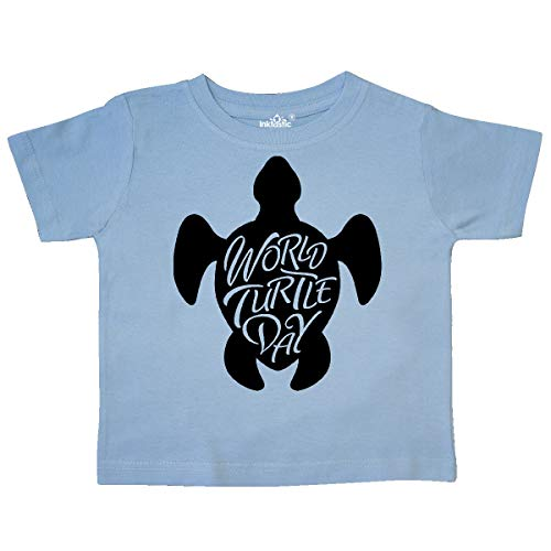 inktastic - World Turtle Day with sea Toddler T-Shirt 2T Light Blue 35a2c ()