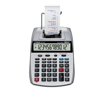 Canon P27-DH 12 Digit Mini Desktop Printing Calculator
