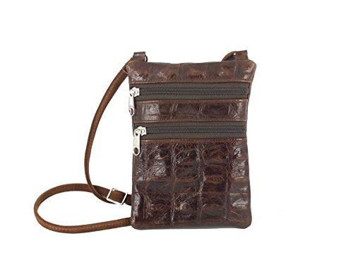 LONI - Cartera de mano para mujer multicolor Marrón / marrón claro multicolor - Marrón / marrón claro