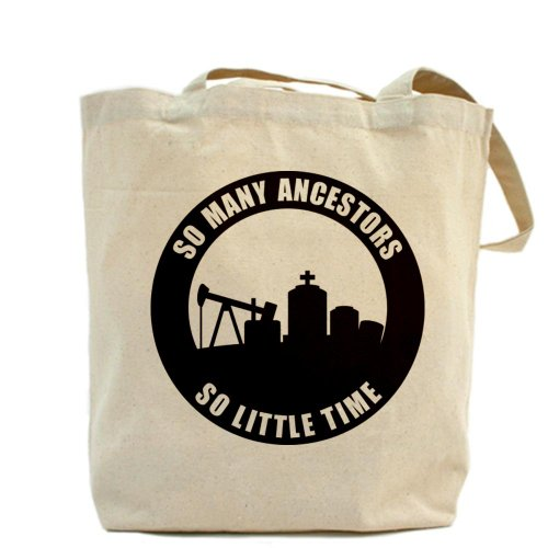 CafePress–tantas antepasados–Gamuza de bolsa de lona bolsa, bolsa de la compra