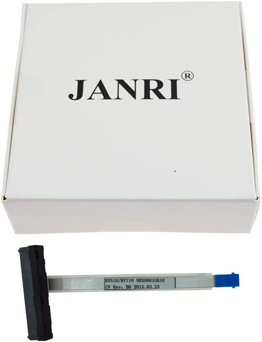 JANRI Replacement Hard Drive Connector HDD FFC SATA Cable for Lenovo Y700 Y710 Y700-15 Y700-17 Y700-15ISK NBX0001GB10 NBX0001GB00