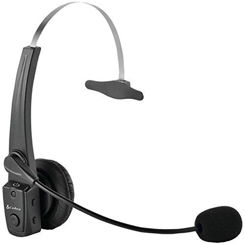 COBRA DIGITAL CA BTCB4 Wireless Cell Phone/CB 4-Pin Radio Microphone System (Certified Refurbished) by Cobra