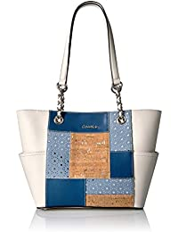 Key Item Chain Patchwork Tote