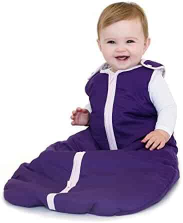 Baby Deedee Sleep Nest Sleeping Sack, Warm Baby Sleeping Bag fits Newborns and Infants, Sugar Plum, Large 18-36 Months