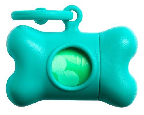 United Pets Bon Ton Classic Dog Waste Bag Dispenser, Apple Green
