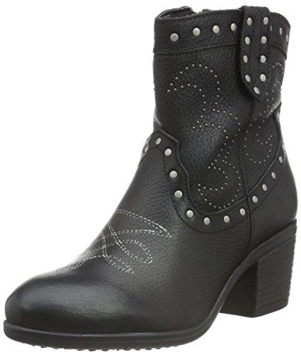 Bullboxer 849530e6l, Zapatillas de Estar por Casa para Mujer Negro - Schwarz (BLCK)