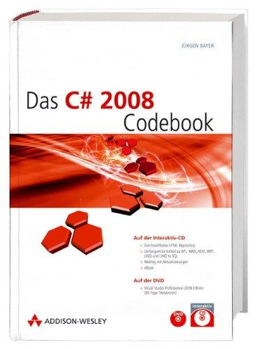 Das C# 2008 Codebook - im Schuber inkl. Repository und eBook: Interaktiv-CD