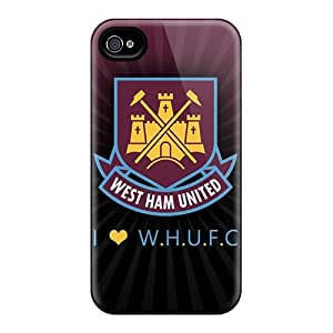 New LQC5033znDp The Famous Football Club England West Ham United Skin Cases Covers Shatterproof Cases HTC One M7