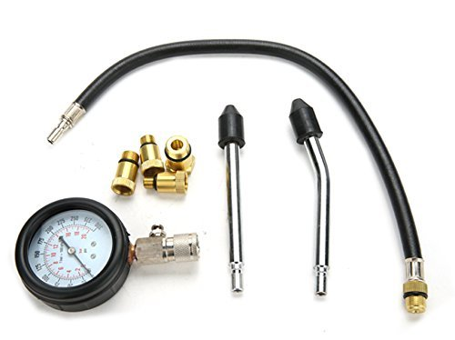 Petrol and Diesel Fuel Pump Pressure Tester / Meter 0 - 300 PSI by CISUNG (Image #4)