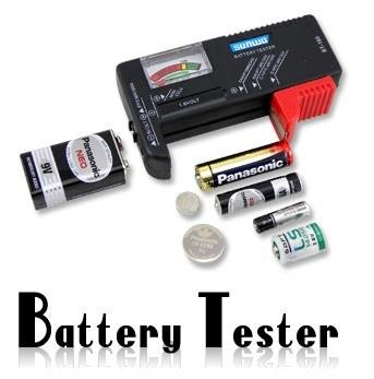 NEW ARRIVAL!!! LiMITED SALE!!! Universal Battery Checker Tester AA AAA C D 9V Button in Consumer Electronics, Multipurpose Batteries Aaa Battery Tester