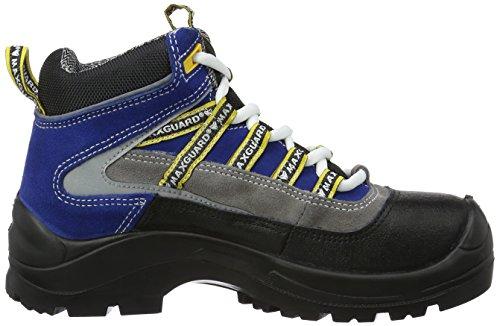 Maxguard CASPAR C480, Unisex-Erwachsene Sicherheitsschuhe, Blau (Blau), 36 EU