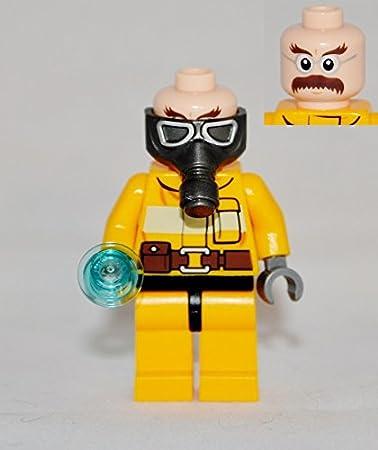 T.V Lego Breaking Bad JESSE PINKMAN  Custom NEW Genuine Lego parts Yellow