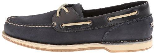 Rockport Perth Hombre US 11.5 Azul Zapatos del Barco